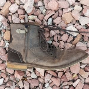 Freebird troy brown leather boots mens sz 10